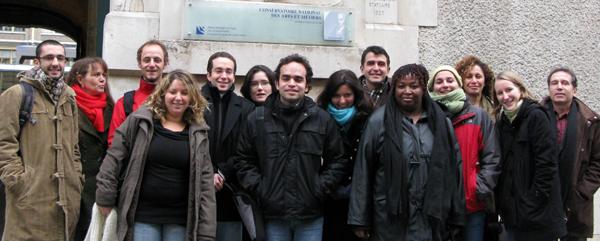 1e promotion de l'ecole Pasteur-Cnam de Santé publique
